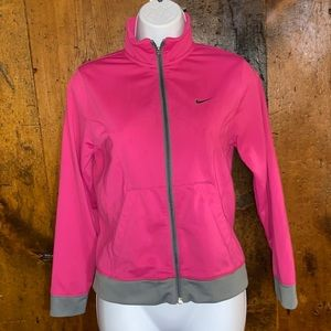 Nike Zip-Up Athletic Top Size L (Jr.)